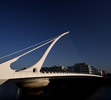 Samuel Beckett Bridge by Paul  Kane