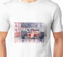 Ferrari F1 Jean Alesi Phoenix US GP Arizona 1991 Unisex T-Shirt