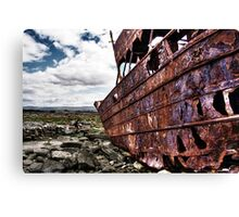 The fallen Plassey Canvas Print