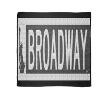 BROADWAY DECO SWING NYC Street Sign  Scarf