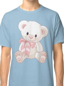Cute teddy bear with bow Classic T-Shirt