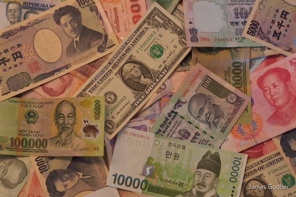 Money makes the world go round by James Godber