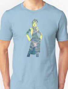Jubilee X-Men Ink Scratch (Multi) Unisex T-Shirt