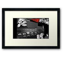 Francesco leaves for the coast. Framed Print