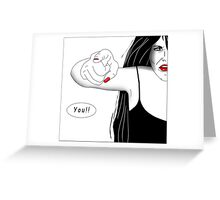 You!! Greeting Card