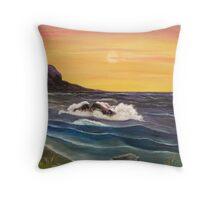 'A Drop in the Ocean' Throw Pillow