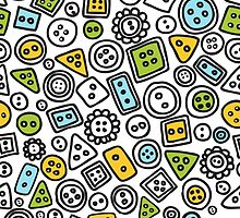 Button doodle pattern by epine