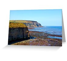 North Yorks Coast  Greeting Card