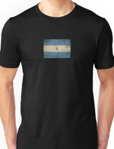 Old and Worn Distressed Vintage Flag of Nicaragua Unisex T-Shirt