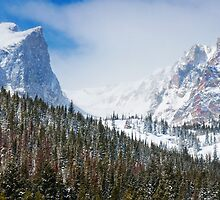 Spring Snow In The Rockies by John  De Bord Photography