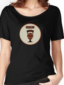 SF Giants Announcer Mike Krukow Pin Women's Relaxed Fit T-Shirt