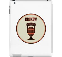 SF Giants Announcer Mike Krukow Pin iPad Case/Skin