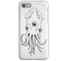 Squid (B&W) iPhone Case/Skin