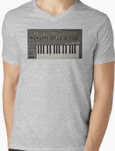 Roland SH-101 Analog Synthesizer Mens V-Neck T-Shirt