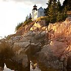 Bass Harbor lighthouse by bettywiley