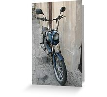 moped Greeting Card