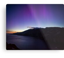 The Northern Lights in June Metal Print
