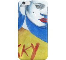 Sky Ferreira: Red Lips iPhone Case/Skin
