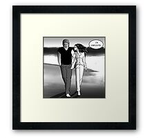 I'm complicated. Framed Print