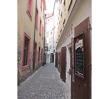 Street in Prague Photographic Print