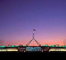 Australian Parliament Building by Kerry Dunstone