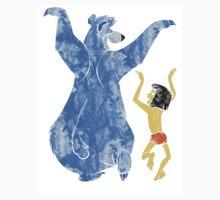 Baloo and Mowgli Paint Splat T-Shirt