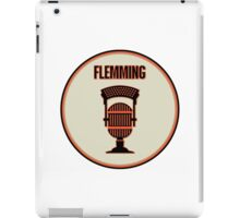 SF Giants Announcer Dave Flemming Pin iPad Case/Skin