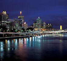 Brisbane Nights by Kerry Dunstone
