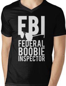 FBI Federal Boobie Inspector Mens V-Neck T-Shirt