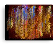 Towering Inferno...the City Burns Canvas Print