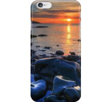 Maughold beach - photography iPhone Case/Skin