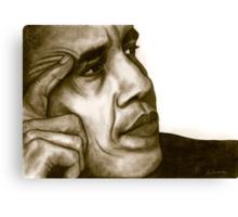 Barack Obama 1262 views Canvas Print
