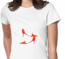 RED SHOES   T Shirt Womens Fitted T-Shirt