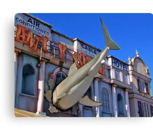Shark Attack - Amity Hotel - Thorpe Park Canvas Print