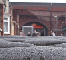 Coronation street cobbles. by Keithydee