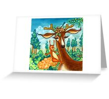 Bavarian Forest Greeting Card