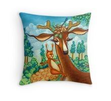 Bavarian Forest Throw Pillow
