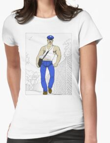 Sketch Womens Fitted T-Shirt