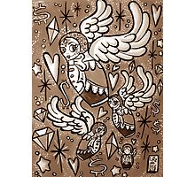 (Sepia) Wings of Desire Photographic Print