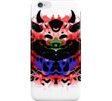 Cacodemon Rorschach iPhone Case/Skin