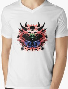 Cacodemon Rorschach Mens V-Neck T-Shirt