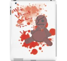 My Heart Aches For You  iPad Case/Skin