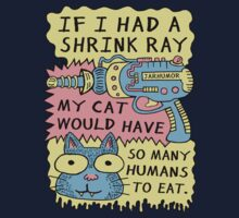 Shrink Ray Cat One Piece - Short Sleeve