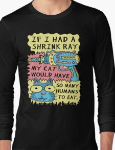 Shrink Ray Cat Long Sleeve T-Shirt