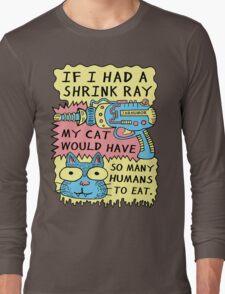 Shrink Ray Cat Long Sleeve T-Shirt