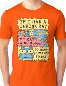 Shrink Ray Cat Unisex T-Shirt