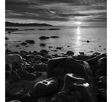 Maughold beach sunrise - photography Photographic Print