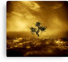 O', to live not just exist... Canvas Print