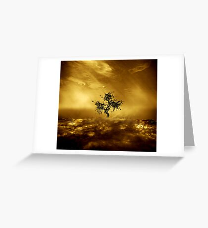 O', to live not just exist... Greeting Card