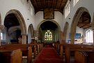 Inside All Saints Misterton by Ray Clarke